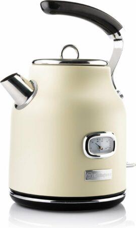 Afbeelding van Westinghouse Retro Waterkoker - 1.7 liter - Wit