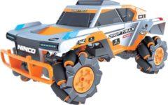 Ninco raceauto Drift Trax jongens 34 cm grijs/oranje/wit 2-delig