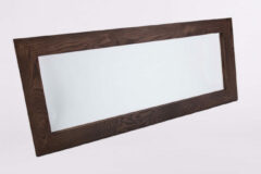 B-Stone Wood spiegel met donker eiken omlijsting 120x50cm