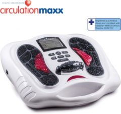 Zilveren BioEnergiser Circulation Maxx Leg Revitaliser - Bloedcirculatie apparaat – booster - Bloedsomloopverbeteraar - Elektrische Spierstimulator