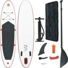 Merkloos / Sans marque SUP board 330cm kleur rood-wit, complete set, paddleboard, subboard, supboard