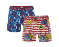 Muchachomalo boxers L rood