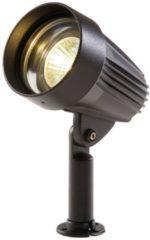 Zwarte Garden Lights LED spotlicht Corvus zwart aluminium 3154011
