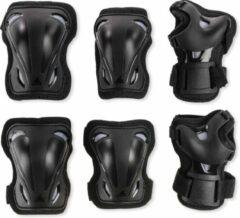 Rollerblade Valbescherming setUnisex - Zwart/Grijs