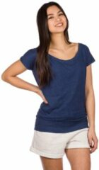 Marineblauwe Kazane Hilde T-Shirt blauw