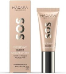 Mádara SOS Eye Revive Hydra cream & mask - oogcrème & -masker