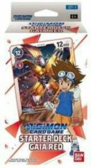 Square Enix Digimon Card Game - Starter Deck Gaia Red ST-1