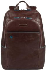 """Piquadro Blue Square Computer Backpack 14"""" Mahogany"""