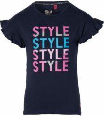 Quapi Meisjes zomer t-shirt - Fenja - Donker blauw