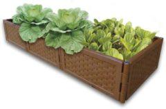 UPP Multifunctionele plantenbak flexibel & uitbreidbaar set 4 stuks