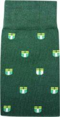 Groene Merkloos / Sans marque Rotterdam sokken | 010s 39-42