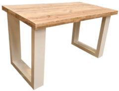 Bruine Wood4you New England bureau steigerhout 140Lx72Dx75H