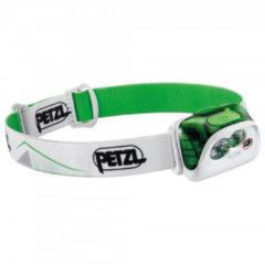 De Petzl Actik Hoofdlamp met 350 lumen en diverse lichtmodi Groen