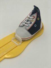 Blauwe MiYuebb Baby schoenen Pasgeboren Baby Jongens/Meisjes Eerste Wandelaars Schoenen Baby Zachte Zool Anti-Slip Baby schoenen