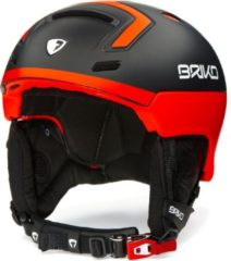 Oranje Briko Stromboli Ski helmet MATT BLK ORANGE FLUO - Maat M/L