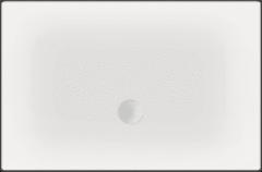 Witte Beterbad Xenz Luxe zelfdragende douchevloer Flat 100 x 100 x 3,5 cm