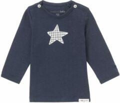 Noppies! Jongens Shirt Lange Mouw - Maat 44 - Donkerblauw - Katoen/elasthan