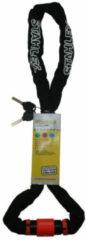 Stahlex Kettingslot / Motorslot / Fietsslot - 6x1200mm Zwart