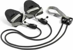Grijze Mad Wave Zwemtrainer Weerstandsband met hand peddels - Weerstandsniveau 1