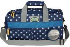 School-Mood Sporttasche Auto School-Mood 96706 karo blue