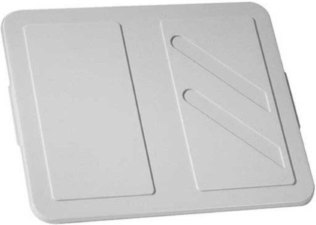 Afbeelding van Keter Crownest - Deksel - Box 17-30 L - Lichtgrijs - 44.4x37x1.5cm - (set van 6) En Yourkitchen E-kookboek - Heerlijke Smulrecepten