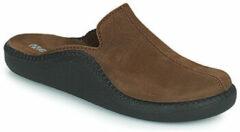 Westland monaco 202 bruine heren pantoffel muil maat 46