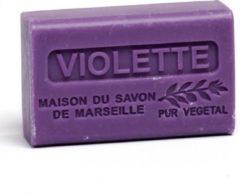 La Maison du Savon de  Marseille 2x Soap bar - Savon de Marseille Violette & Savon de Marseille Muguet
