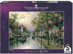 Selecta Spellen Schmidt Puzzel - Kinkade Hometown Morning