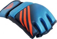 Blauwe Adidas Speed MMA Handschoenen L