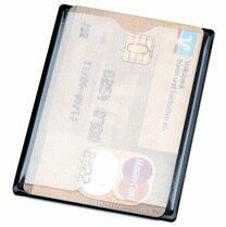 Zwarte Kangaro Hidentity RFID voor 2 credit cards K-19004