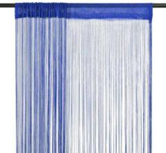 5 days Draadgordijnen 100x250 cm blauw 2 st