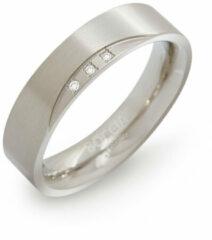 Zilveren Boccia Titanium 0138-02 Ring - Titanium - Zilverkleurig