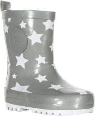 Grijze Shoesme Meisjes Rubber laarzen - Grey Star - Maat 21