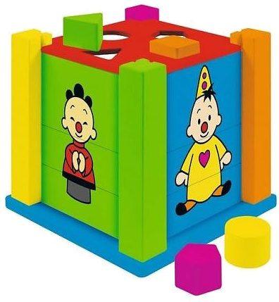 Afbeelding van Studio 100 Houten Vormenstoof Bumba Met Puzzels