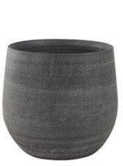Grijze Ter Steege Pot esra mystic grey bloempot binnen 31 cm S