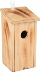 WorldPet Flamingo Nestkastje gib hout gevlamd natuur 12x12x24cm