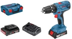 Bosch Power Tools GSB 18V-21, 2 x - Akku-Schlagbohrschrauber GSB 18V-21, 2 x