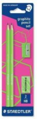STAEDTLER Speelgoed | Creatief / Artwork / Diy - Wopex Neon -Bk Neon Groen (Potl./Slijper