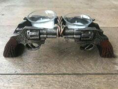 Bruine Damn Waxinehouder revolvers 309