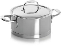Zilveren Demeyere Atlantis Kookpan - met Deksel - Ø20 cm - 3 l