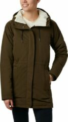Columbia South Canyon™ Sherpa Lined Jacket Outdoorjas Dames - Olive groen - Maat XS