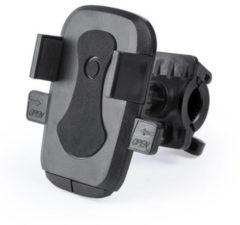 Zwarte Merkloos / Sans marque Universele fiets telefoonhouder voor smartphone - Geschikt voor ieder fietsstuur