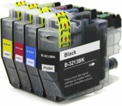 Inkmaster huismerk Cartidge voor Brother LC-3213 XL inktcartridges LC multipack van 5 kleuren voor Brother MFC-J491DW, MFC-J497DW, DCP-J572dw, MFC-J890DW, MFC-J895DW, DCP-J772DW ,DCP-J774DW