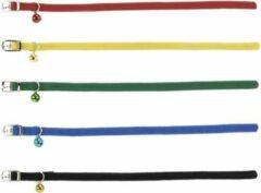 Merkloos / Sans marque Beeztees - Kattenhalsband - Nylon - Zwart - 6-29 cm