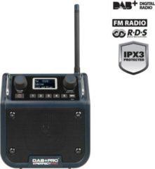 PerfectPro DAB+PRO, Baustellenradio, DAB+, UKW RDS, AUX-In, staub- u schmutzfest