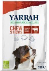 Yarrah Biologische Kauwstaafjes Hond Rund Met Zeewier En Spirulina - 33 GR (25 stuks)