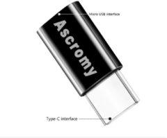 Type-c Otg Adapter Micro Usb Naar Type C Oplader Zwart Connectors voor Samsung Galaxy S8 S9 Plus Note 8 9 Leeco Type C Naar Usb-c Usbc Kabel
