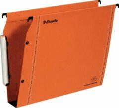 Hangmappen voor kasten 33 cm Premium kraft LMG Esselte bodem 50 mm oranje