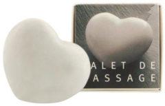 Aleppo Soap Co Massage hart marmer wit 1 Stuks