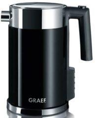 Zilveren Graef waterkoker instelbaar WK702 - 1,5 liter - zwart